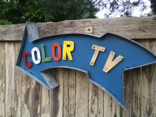 Color TV – $275.00