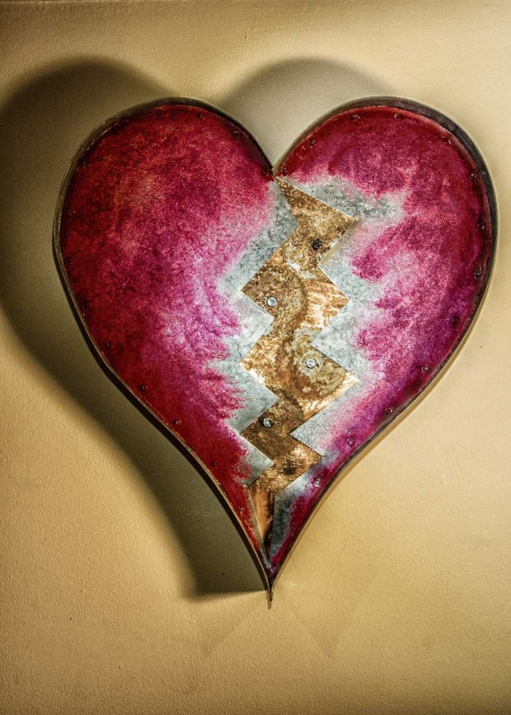 Heart With Gears – Sold