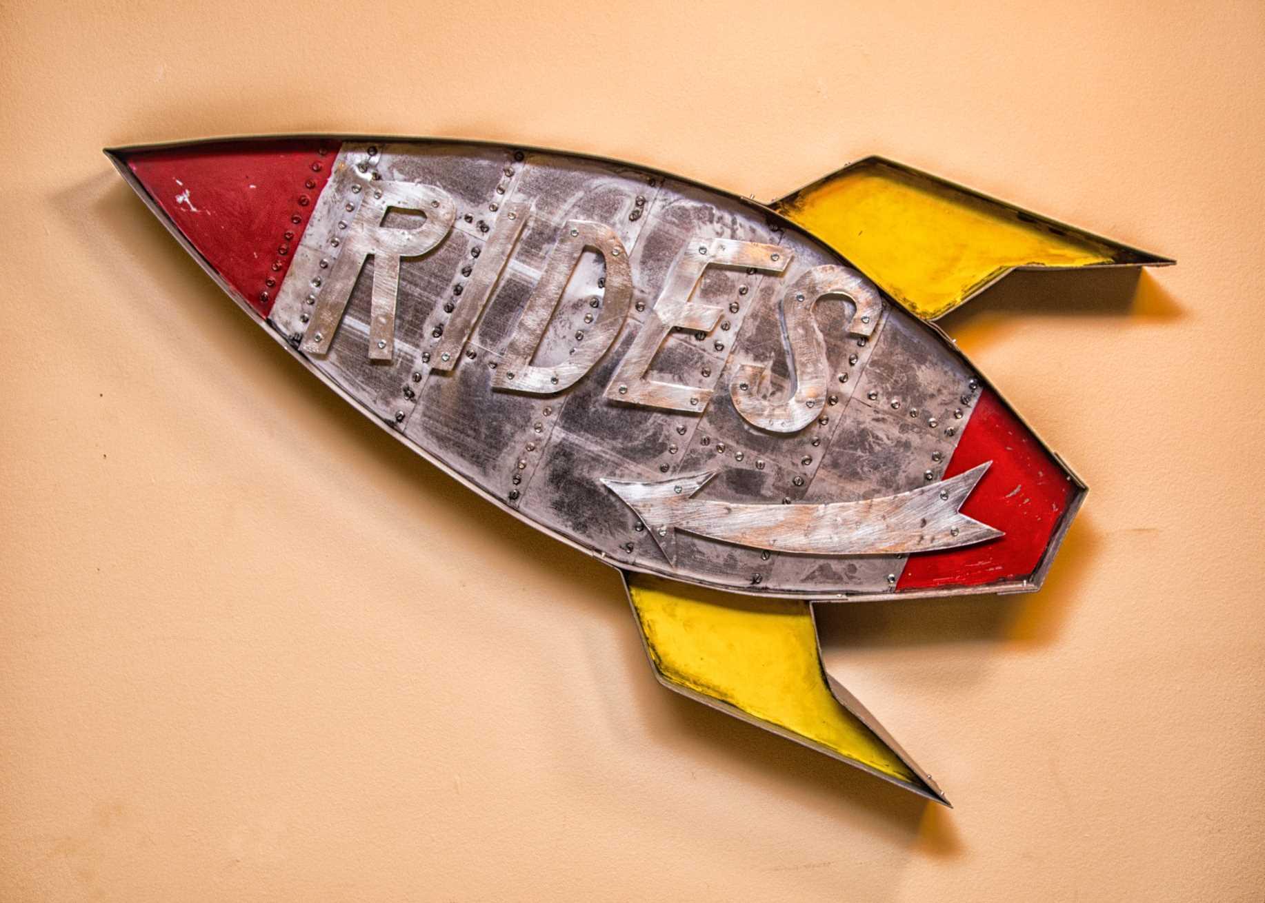 Rocket Rides – Sold