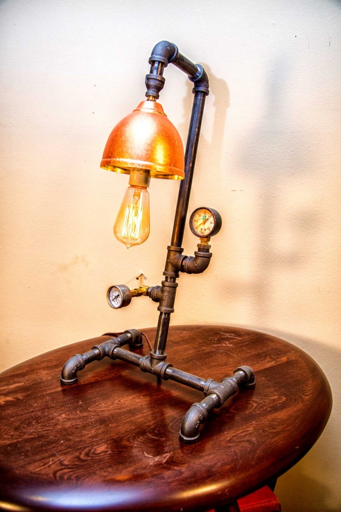 Steampunk Table Lamp – $275.00